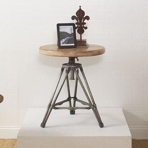 Largo Accent Tables Tripod Round End Table - Item Number: T170-124