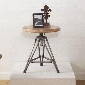 Largo Accent Tables Tripod Round End Table