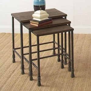 Largo Accent Tables Three Pack Stack Tables