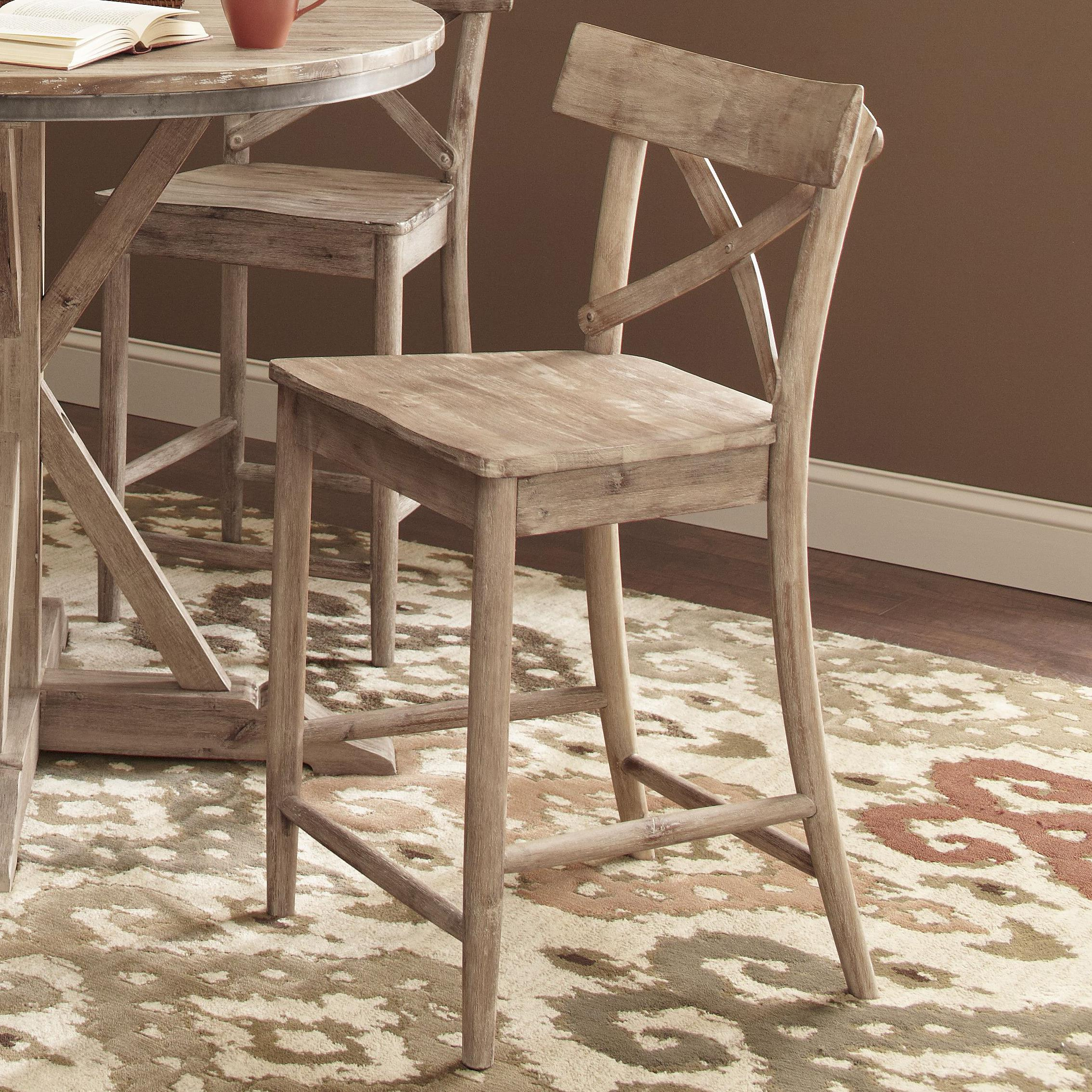 Largo Callista D680 22 Rustic Casual 24 Quot Counter Stool