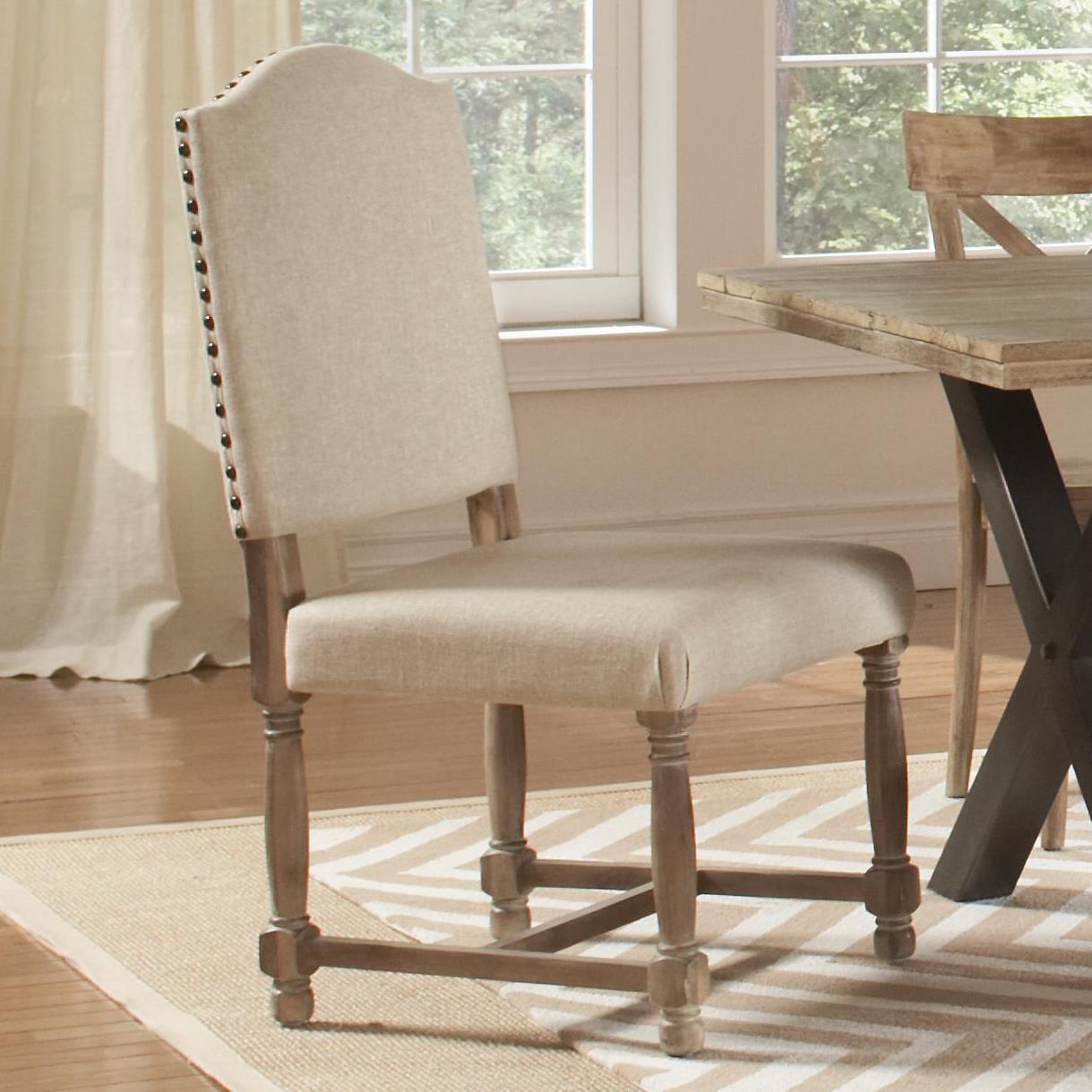 Largo Callista Upholstered Side Chair - Item Number: D680-43