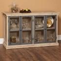 Largo Callista Glass Door Buffet - Item Number: D680-54