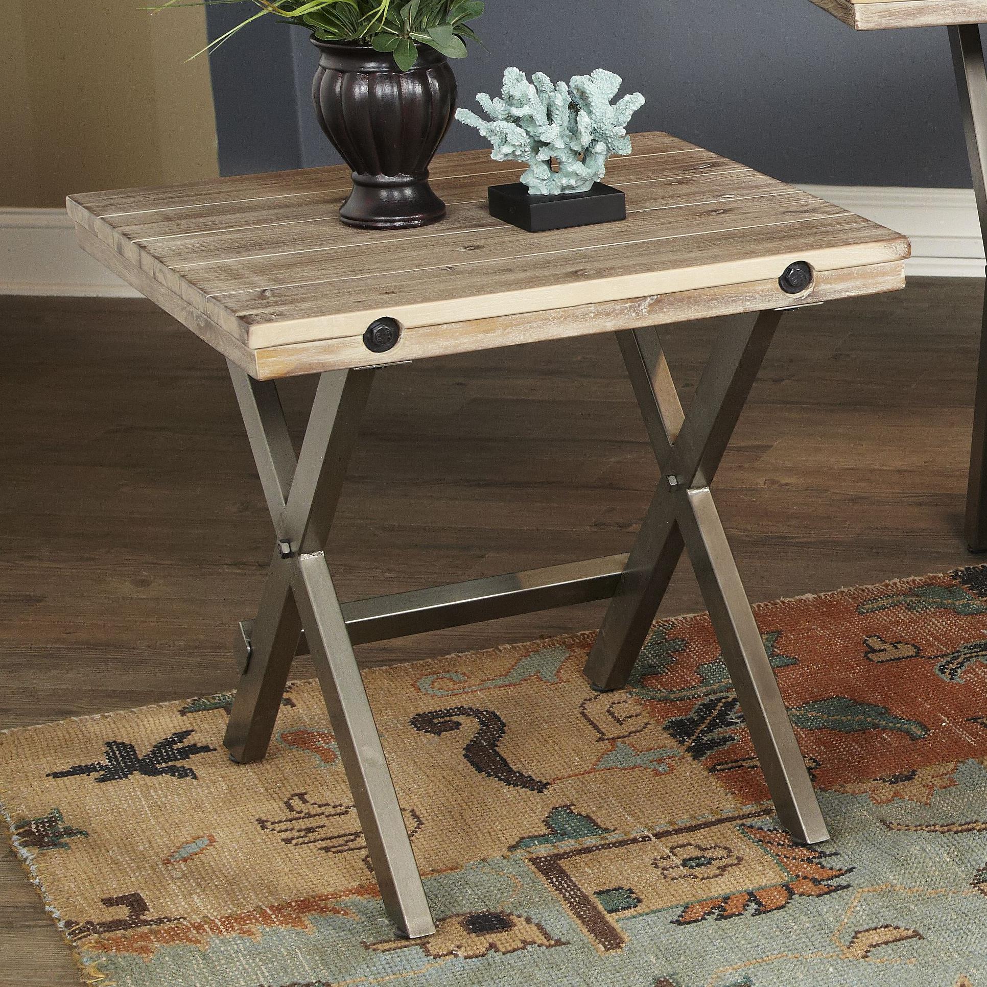 Largo Callista Square End Table - Item Number: T680-125