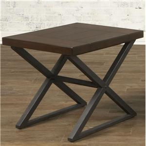 Largo Crossing Rectangular End Table