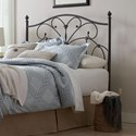 Largo Fanfare King Metal Headboard - Item Number: 3125KH