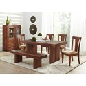 Largo Harrison Square Rectangular Dining Table