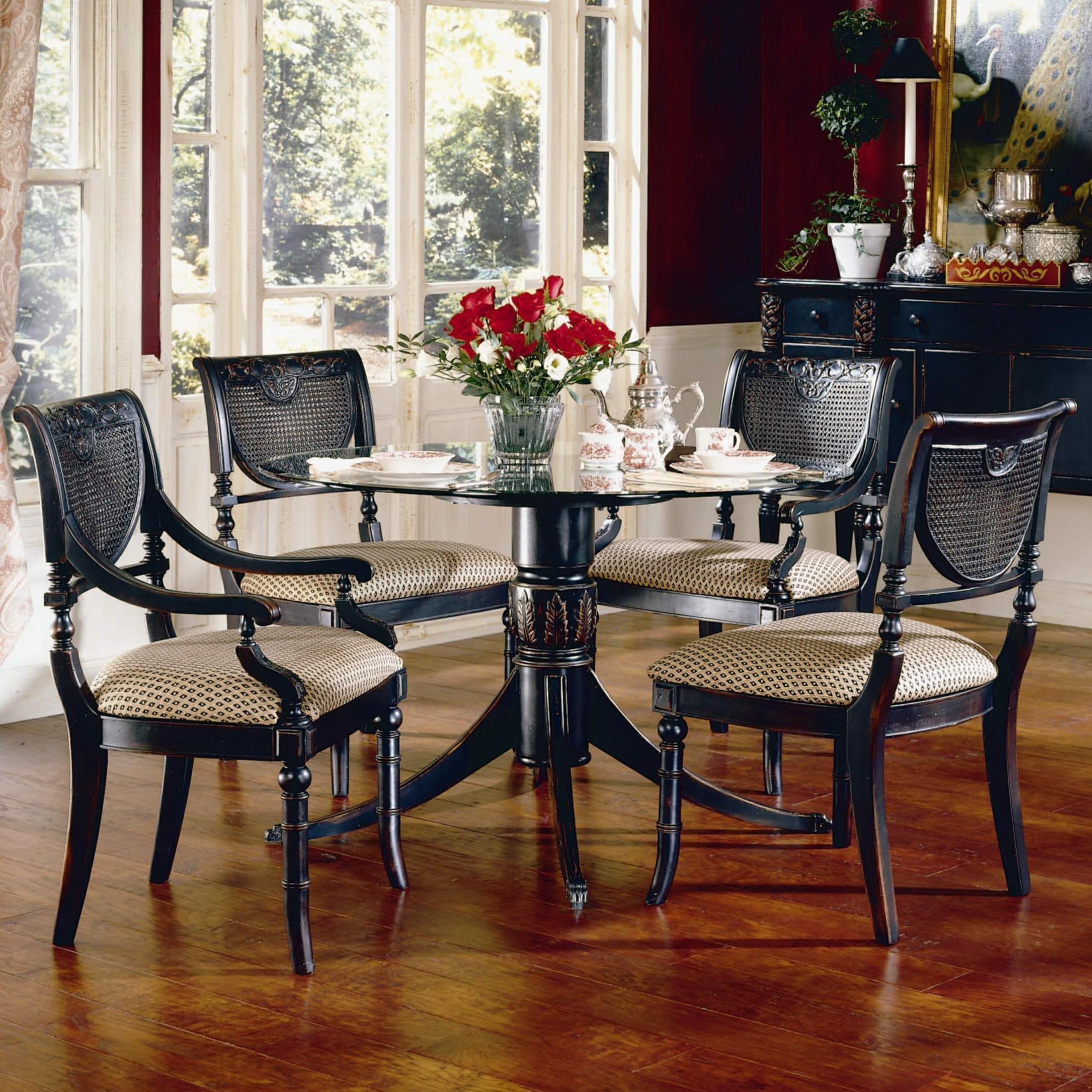 30 Dining Table Set Largo Heritage Five Piece Round Dining Table And Chair Set .