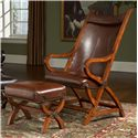 Largo Hunter Hunter Chair and Ottoman - Item Number: L731A