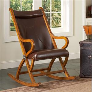 Largo Hunter Upholstered Hunter Rocking Chair