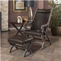 Largo Hunter Hunter Chair and Ottoman - Item Number: L820