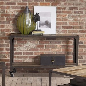 Largo Industrial Age Sofa Table