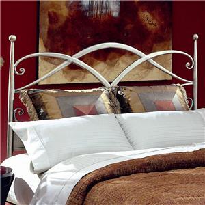 Largo Metal Beds  Queen Cutlass Headboard