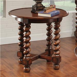 Exceptional Largo Normandy Round End Table