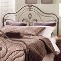 Largo Provence King Steel and Aluminum Headboard - Item Number: 3024KH