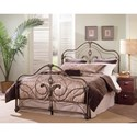 Largo Provence Queen Steel and Aluminum Bed - Item Number: 3042QHF+1006A