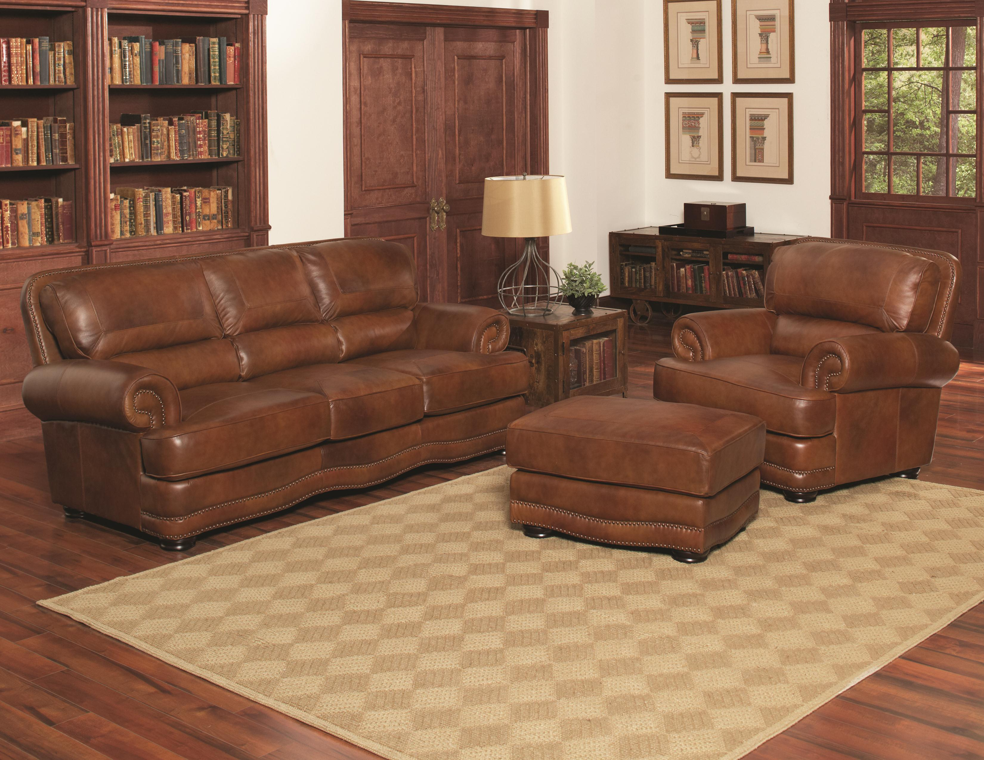 Lovely Largo Remington Stationary Living Room Group   Item Number: L1250 Living  Room Group