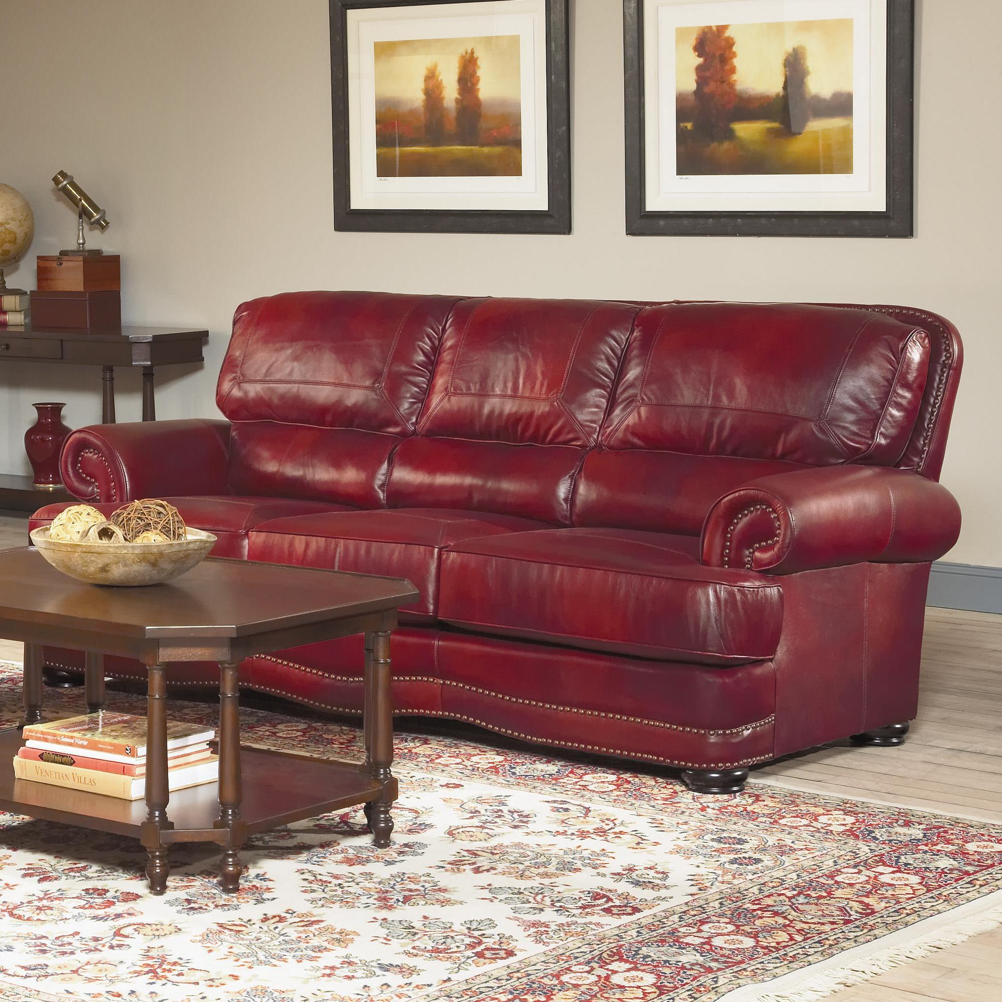 Elegant Largo Woodland Sofa   Item Number: L1266 401