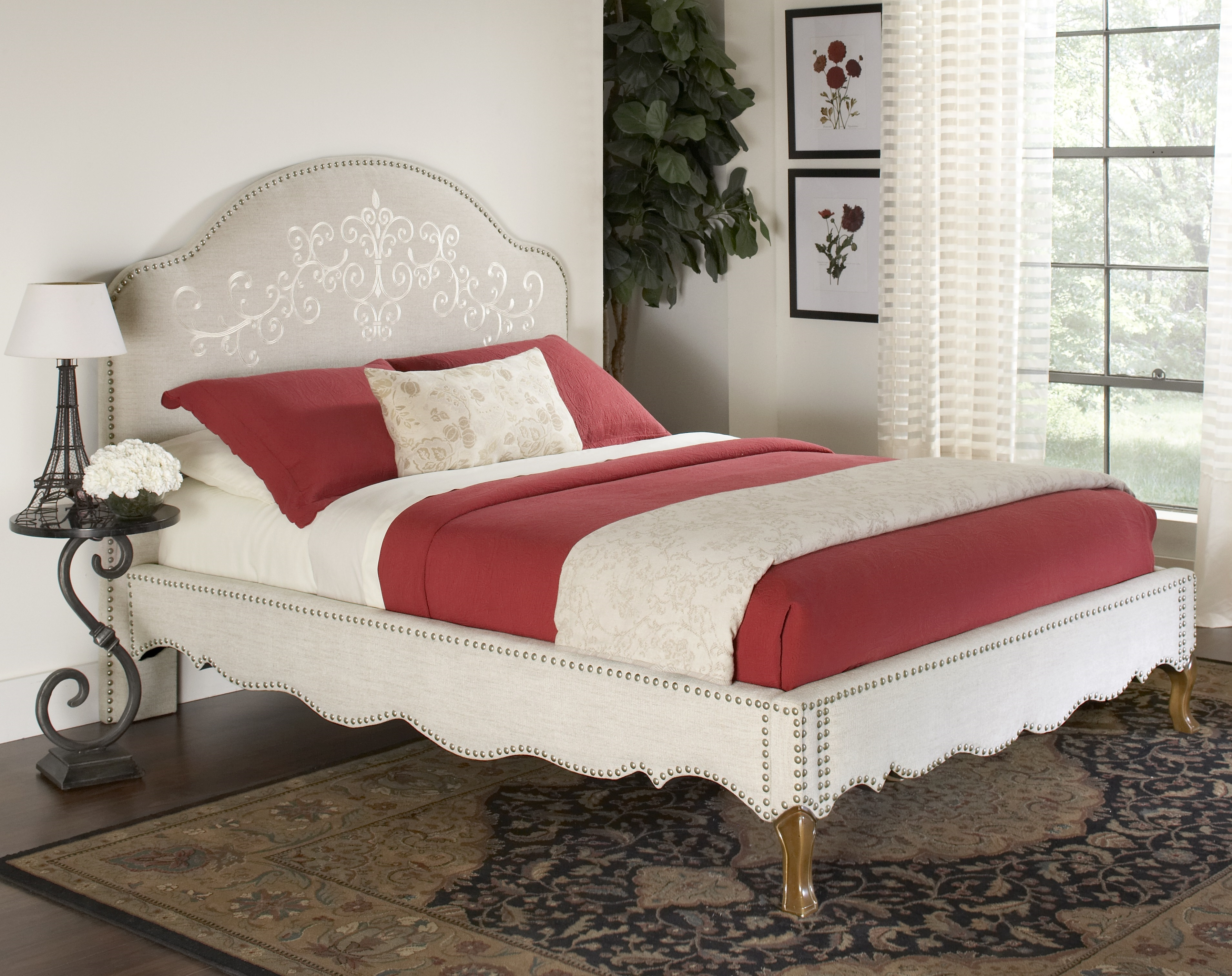 Largo Royale Queen Upholstered Bed - Item Number: 1325Q