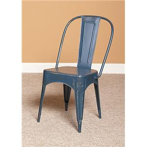 Largo Timbuktu - Blue Side Chair