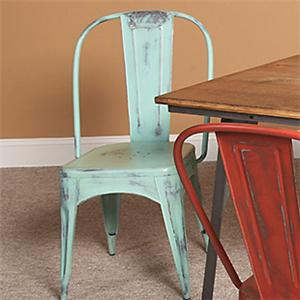 Largo Timbuktu - Turquoise Side Chair