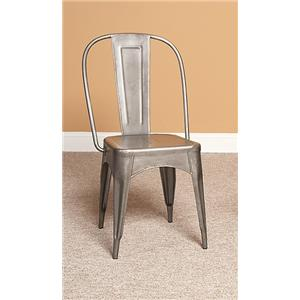 Largo Timbuktu - Steel Side Chair