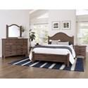 Laurel Mercantile Co. Bungalow King Bedroom Group - Item Number: 740 K Bedroom Group 2