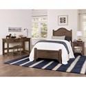 Laurel Mercantile Co. Bungalow Full Bedroom Group - Item Number: 740 F Bedroom Group 2