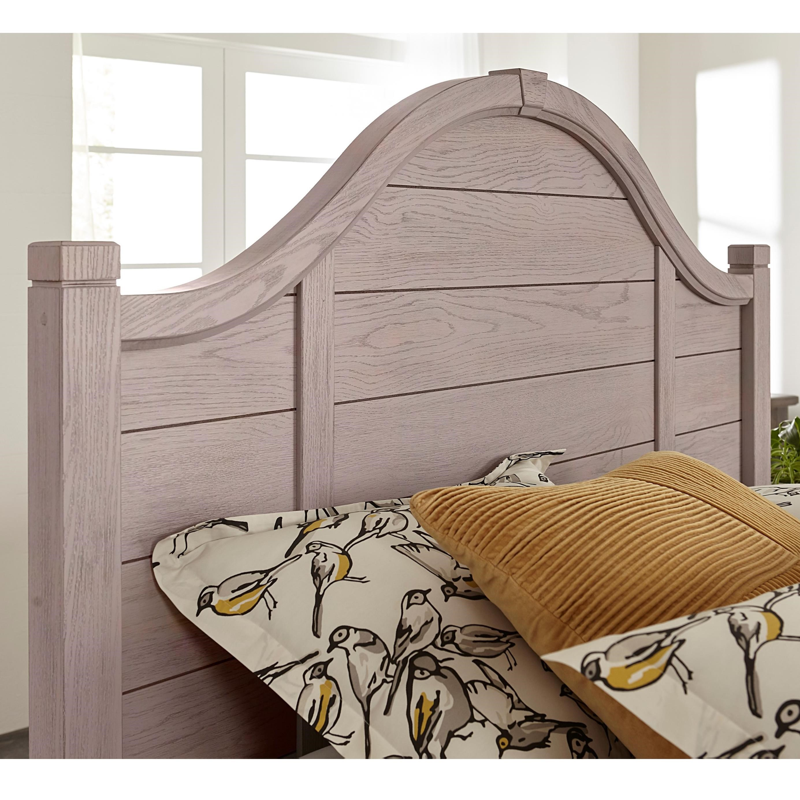 Bungalow Queen Arch Headboard by Laurel Mercantile Co. at Darvin Furniture