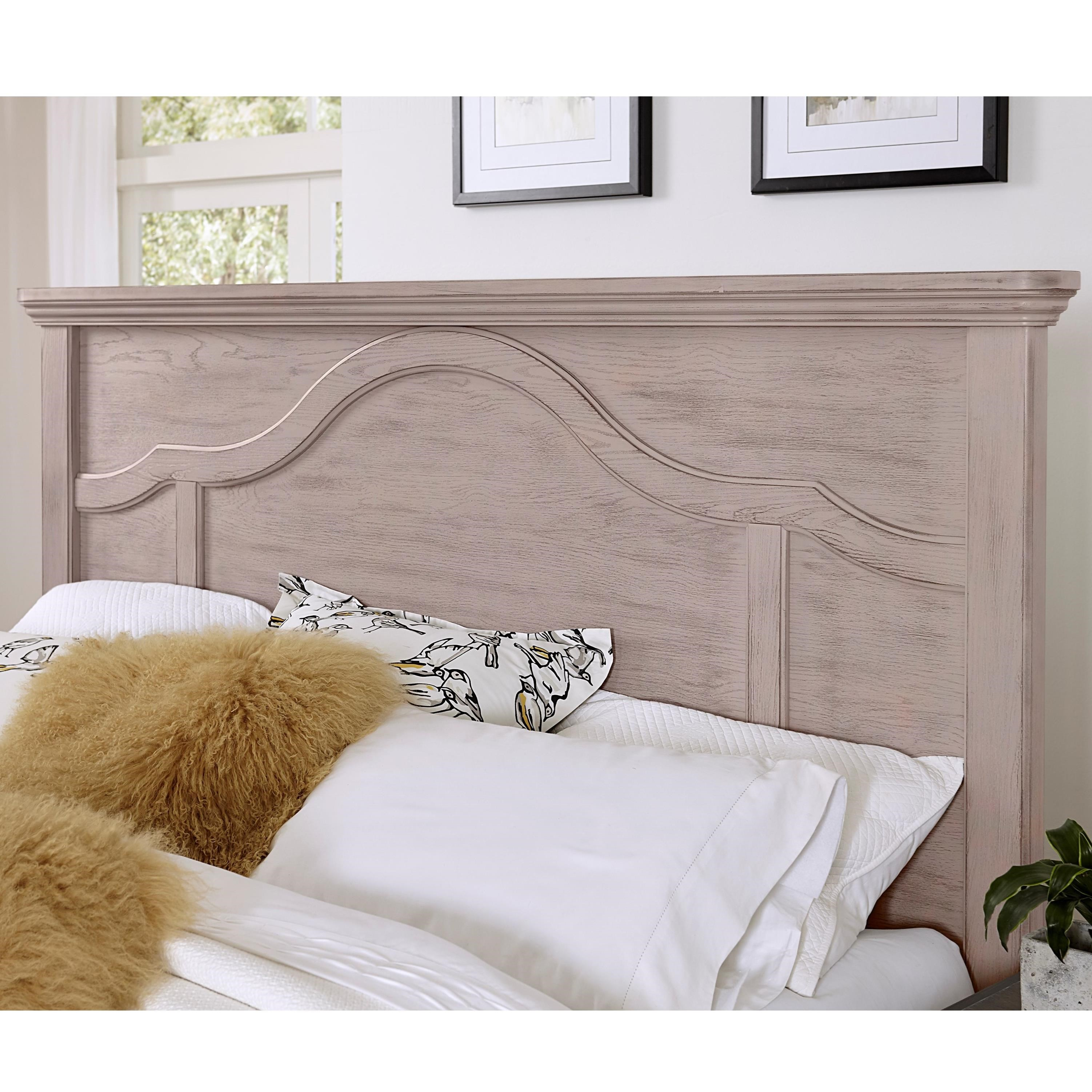 Bungalow Queen Mantel Headboard by Laurel Mercantile Co. at Darvin Furniture