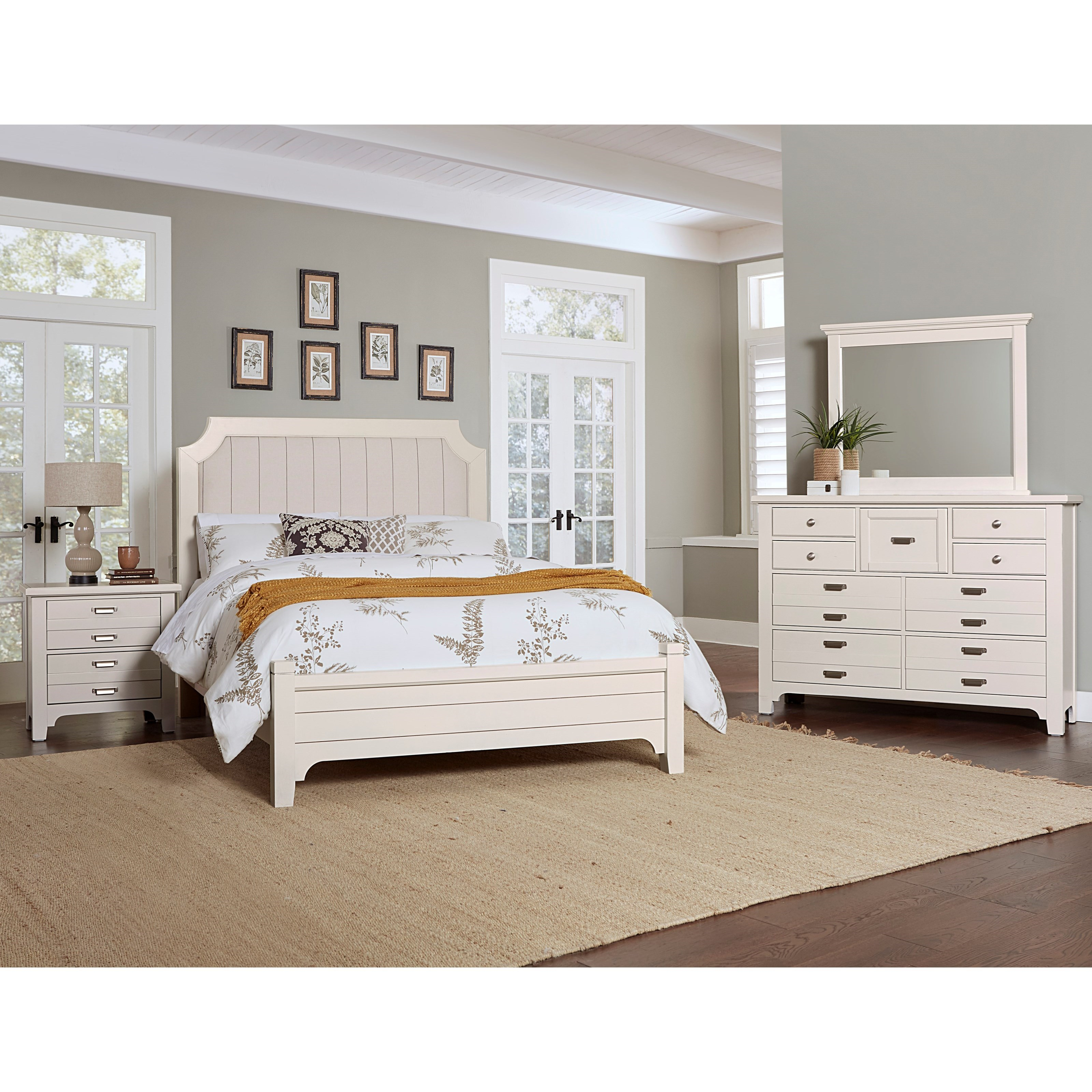 Bungalow Queen Bedroom Group by Laurel Mercantile Co. at Johnny Janosik