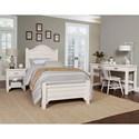 Laurel Mercantile Co. Bungalow Twin Bedroom Group - Item Number: 744 T Bedroom Group 2