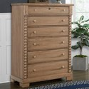 Laurel Mercantile Co. Scotsman Tall Chest of Drawers - Item Number: 182-116