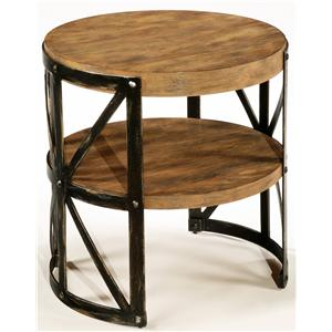 LaurelHouse Designs Ashton Round End Table