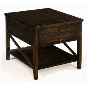 LaurelHouse Designs Cameron Tables Rectangular End Table