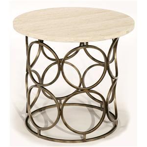 LaurelHouse Designs Circa Round End Table