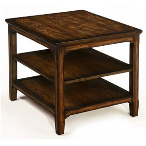 LaurelHouse Designs Denver Rectangular End Table