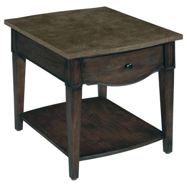 LaurelHouse Designs Emery Rectangular End Table - Item Number: 237221-00