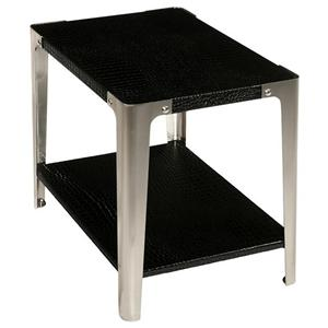LaurelHouse Designs Gotham Rectangular End Table