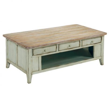 LaurelHouse Designs Haley Rectangular Cocktail Table - Item Number: 102201-02
