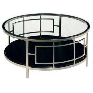LaurelHouse Designs Matrix Round Cocktail Table