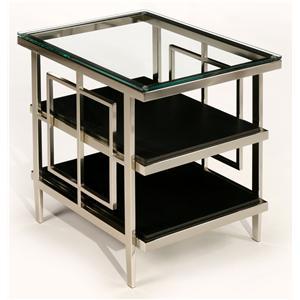 LaurelHouse Designs Matrix Rectangular Accent Table