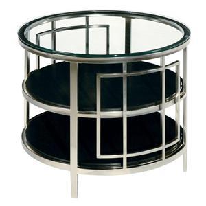 LaurelHouse Designs Matrix Round End Table