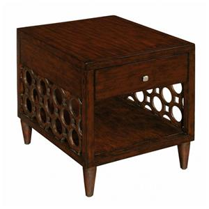 LaurelHouse Designs Orbit Rectangular End Table