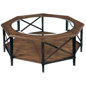 LaurelHouse Designs Tanner Octagonal Cocktail Table