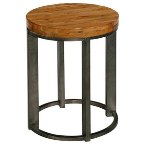 LaurelHouse Designs Tribeca Round End Table