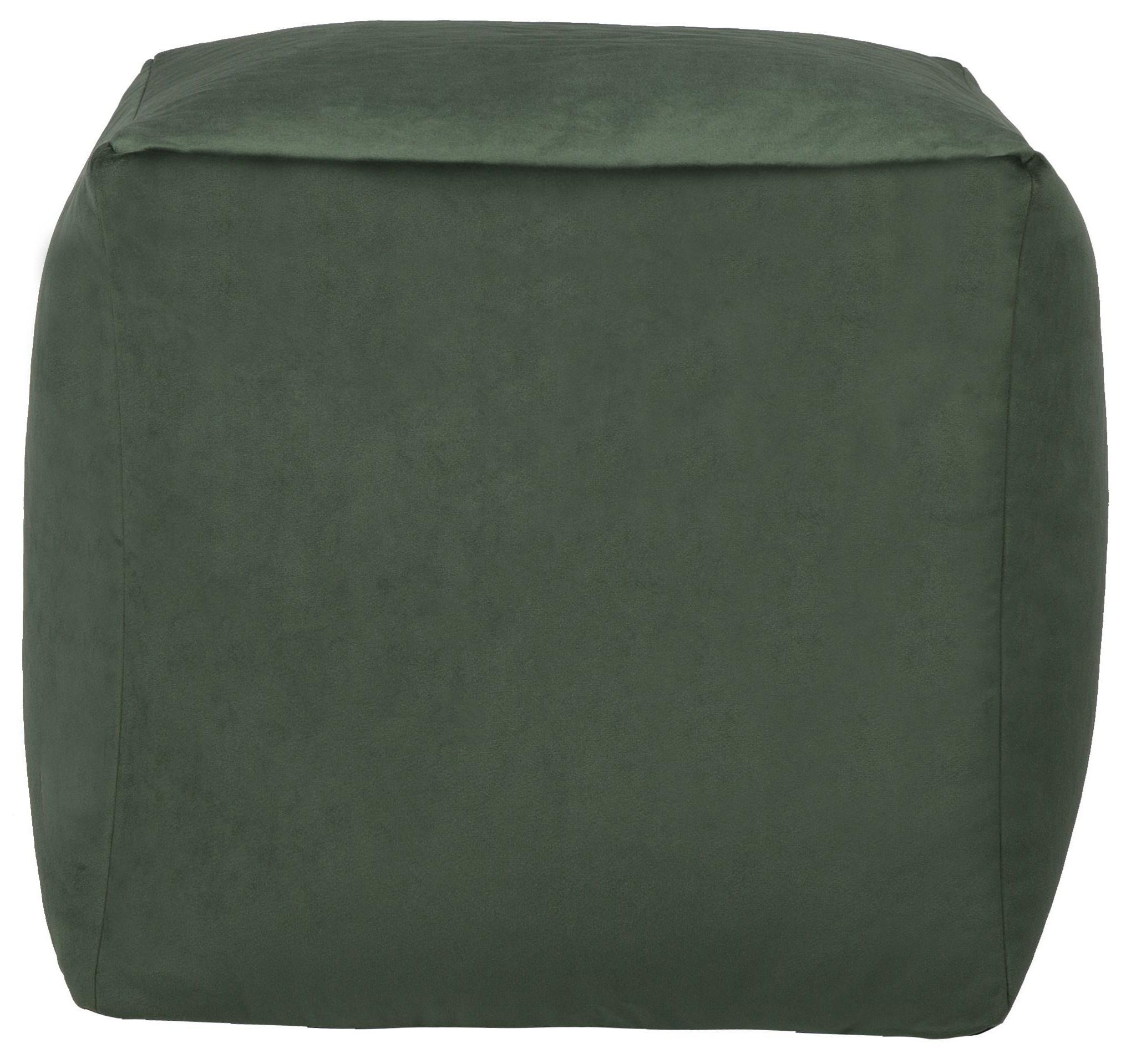 Green Cube Beanbag