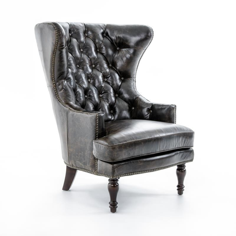 Lazzaro Sedgefield Lazzaro Sedgefield Wing Chair - Item Number: C1309-9010A VINTAGE