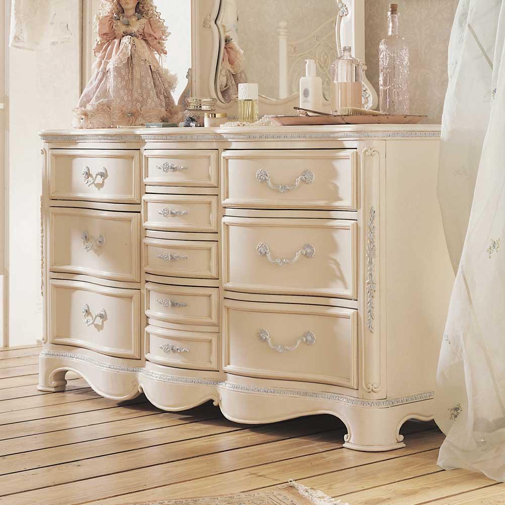 Jessica McClintock Romance Ten Drawer Bedroom Storage Dresser by Lea  Industries
