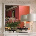 Lea Industries Elite - Reflections Vertical/Landscape Mirror with White Molding - 876-030