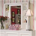 Lea Industries Elite - Reflections Cabinet Mirror with White Molding - 876-040